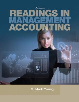 Readings in Management Accounting for Management Accounting