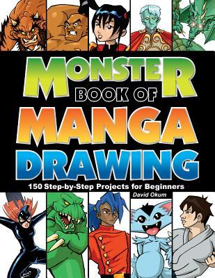 Monster Book Of Manga Drawing 150 Step By Step Projects For