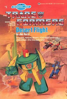 Desert Flight (The Transformers: Find Your Fate, #5)