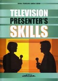 Television presenter's skills