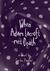 When Adam Lacroft Met Death