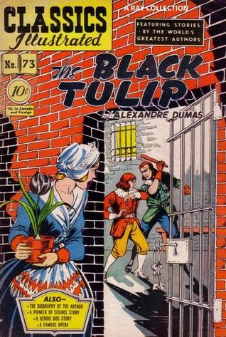 Classics Illustrated 73 of 169 : The Black Tulip