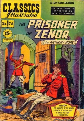 Classics Illustrated 76 of 169 : The Prisoner of Zenda