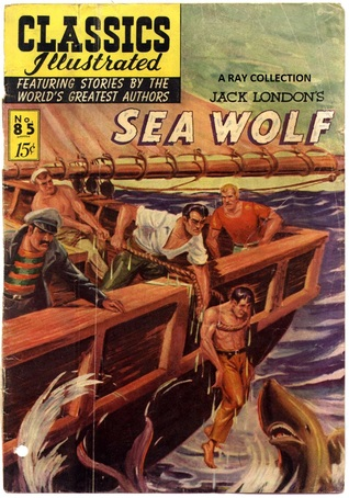 Classics Illustrated 85 of 169 : The Sea Wolf