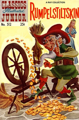 Classics Illustrated Junior 12 of 77 : 512 Rumplestiltskin
