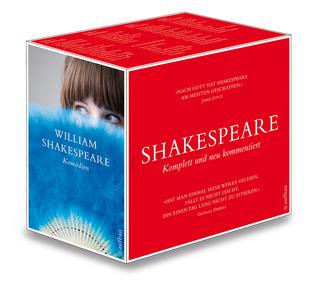 Shakespeare: Sämtliche Werke in vier Bänden komplett und neu kommentiert