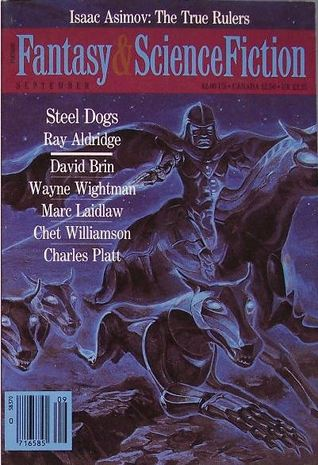 The Magazine of Fantasy & Science Fiction, September 1989 (The Magazine of Fantasy & Science Fiction, #460)