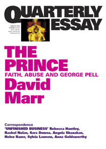 the prince faith abuse and george pell by david marr