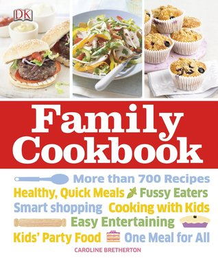 family cookbook by caroline bretherton
