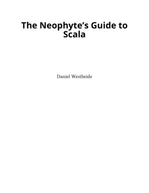 The Neophytes Guide to Scala