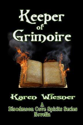 Keeper of Grimoire (Bloodmoon Cove Spirits Series Novella)