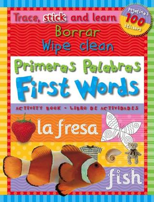Trace, Stick Learn Borrar Primeras Palabras/Wipe Clean First Words