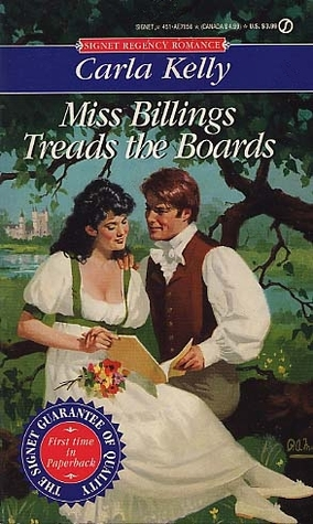 Miss Billings Treads the Boards by Carla Kelly