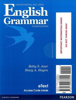 Understanding and Using English Grammar Etext with Audio; Without Answer Key