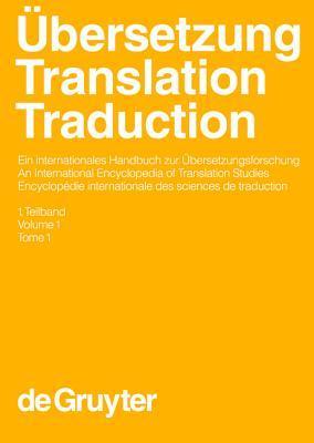 Ubersetzung - Translation - Traduction. 1. Teilband