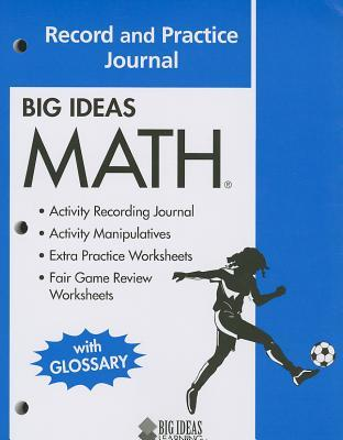 Big Ideas Math: Blue: Record and Practice Journal