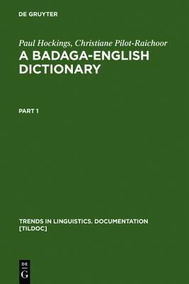 A Badaga-English Dictionary