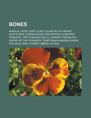 Bones: Angelic Layer, Host Club, Fullmetal Alchemist, Wolf's Rain, Eureka Seven, Rahxephon, Scrapped Princess, Tokyo Magnitude 8.0, Darker Than Black, Sword of the Stranger, Tenp Ibun Ayakashi Ayashi, the Skull Man, Cowboy Bebop