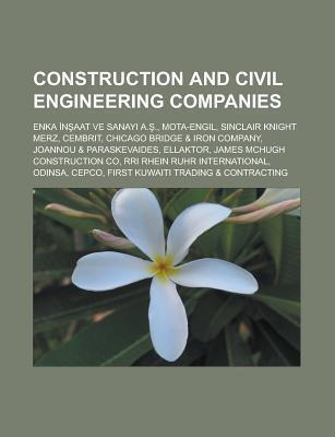 Construction and Civil Engineering Companies: Taiyo Membrane Corporation, Ghd Group, Chicago Bridge