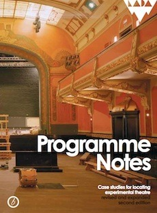 Programme Notes: Case Studies for Locating Experimental Theatre