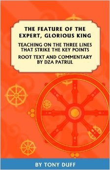 """The Feature of the Expert, Glorious King: """"Three Lines That Hit the Key Points."""" Root text and commentary by Patrul Rinpoche"""