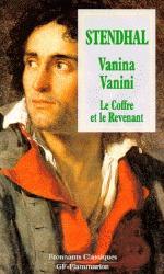 Vanina Vanini. Le coffre et le revenant