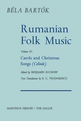Rumanian Folk Music: Carols and Christmas Songs