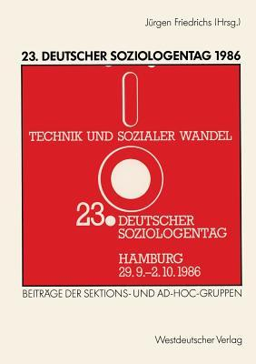 23-deutscher-soziologentag-1986-sektions-und-ad-hoc-gruppen