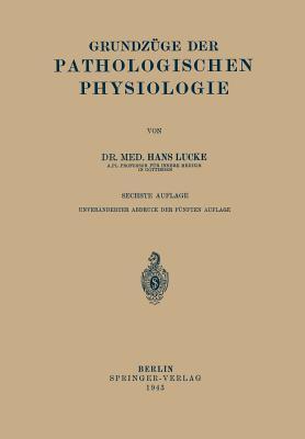 Grundzuge Der Pathologischen Physiologie
