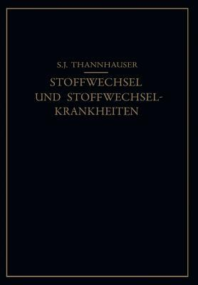 Lehrbuch Des Stoffwechsels Und Der Stoffwechsel-Krankheiten
