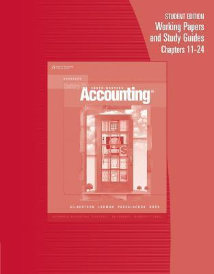 Century 21 Accounting: Advanced Working Papers Chapters 11-24