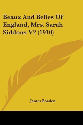 Beaux and Belles of England, Mrs. Sarah Siddons V2 (1910)