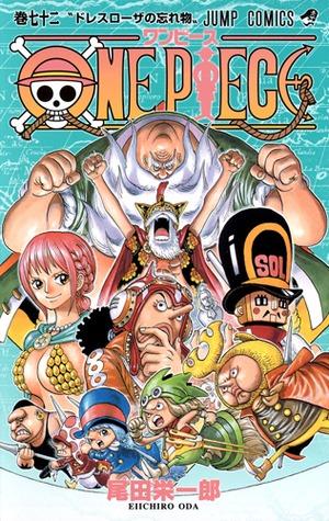 ONE PIECE 72 (One Piece, #72)