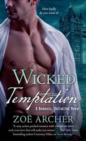 Wicked Temptation (Nemesis, Unlimited, #3)