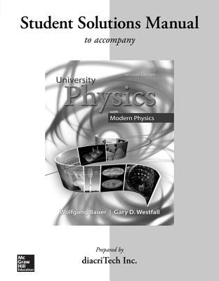 Student Solutions Manual for University Physics