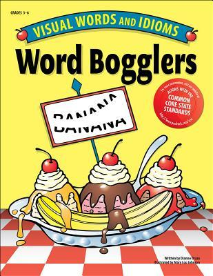 Word Bogglers: Visual Words and Idioms