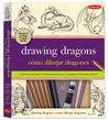 Drawing Dragons Kit: A complete drawing kit for beginners