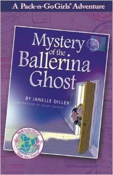 Mystery of the Ballerina Ghost (Pack-n-go Girls - Austria, #1)
