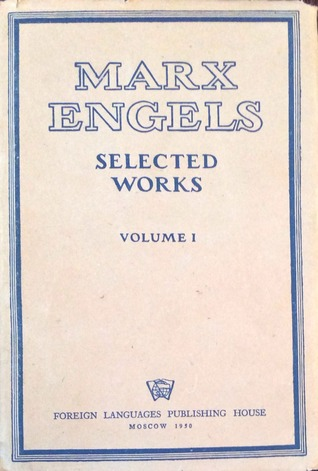 Marx Engels Selected Works in Two Volumes (volume 1)