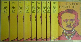 Edgar Allan Poe Das gesamte Werk in Zehn Bänden komplett alle 10 Bände in original Pappschuber. Ins Deutsche übertragen von Hans Wollschläger und Arno Schmidt