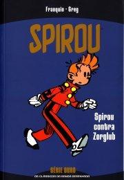 Spirou: Spirou Contra Zorglub (Série Ouro, #12)