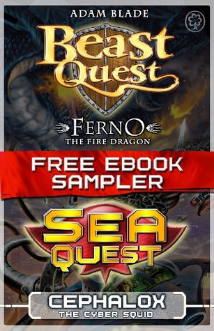 Beast Quest and Sea Quest Free eBook Sampler, Ferno & Cephalok