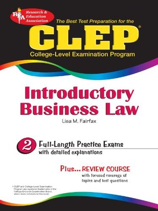 CLEP Introductory Business Law: 2