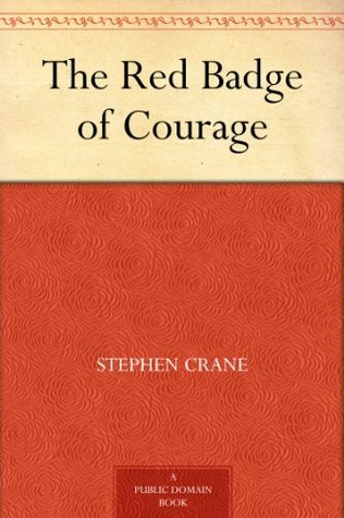 Image result for book cover red badge of courage