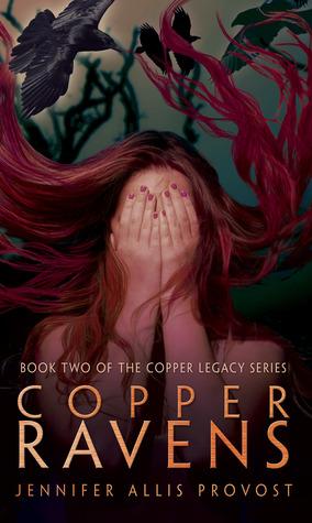 Copper ravens by Jennifer Allis Provost