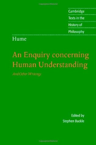 Hume: An Enquiry concerning Human Understanding (Cambridge Texts in the History of Philosophy)