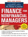 The McGraw-Hill 36-Hour Course: Finance for Nonfinancial Managers (McGraw-Hill 36-Hour Courses)