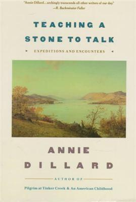 annie dillard teaching a stone to talk essay This item:teaching a stone to talk by annie dillard paperback cdn$ 1619  in  this essay, dillard contrasts her experiences in an utterly dreadful church.