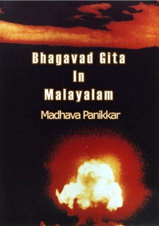 Bhagavad Gita In Malayalam By Madhava Panikkar
