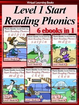 Level 1 Start Reading Phonics Books 01-06 (6 ebooks in 1) Collection (Childrens Learning To Read Activity Book) (Phonic Ebooks: Kids Learn To Read (Childrens ... Readers Level 1 Collection) Sight Words)
